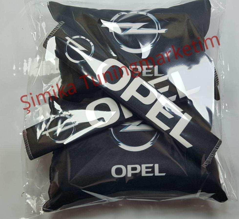 Opel YASTIK LASTİKLİ 2 Lİ VE 2 KEMER KILIFI