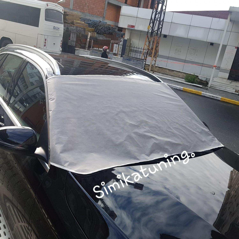 SUV JEEP Oto Ön Cam Kar Buz Önleyici Branda Koruyucu Cam Güneşli