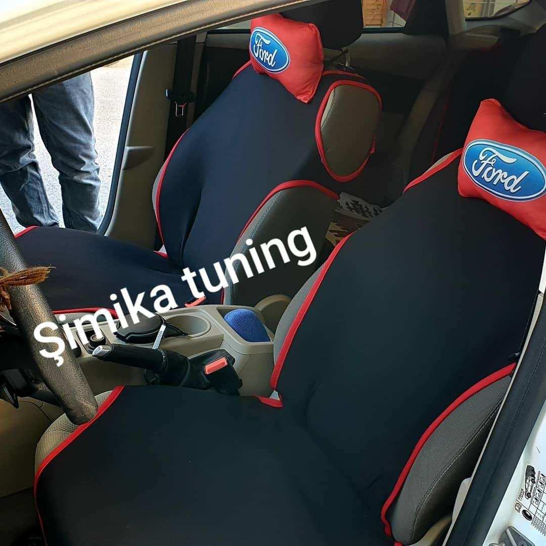 Ford Oto Koltuk Atlet Kılıfı Ön Arka komple Set  2 li yastık
