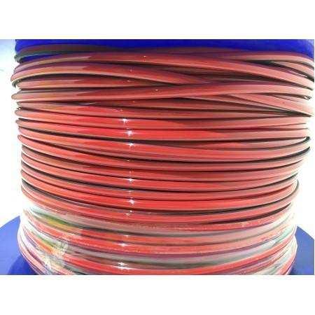 Araç İçi veya Tampon Kırmızı Renkli PVC Şerit 3 Metre