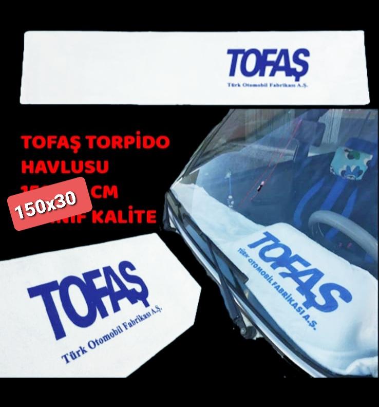 Torpido Havlu 150x30 cm kaliteli baskılı yumuşak uygun fiyat