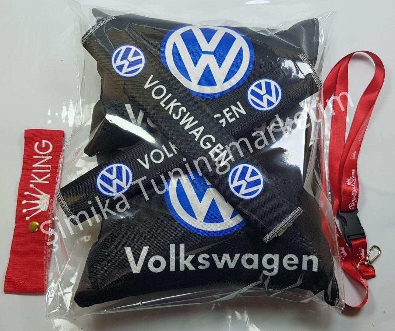 Volkswagen YASTIK LASTİKLİ 2 Lİ VE 2 KEMER KILIFI+ayna ipi ve ta