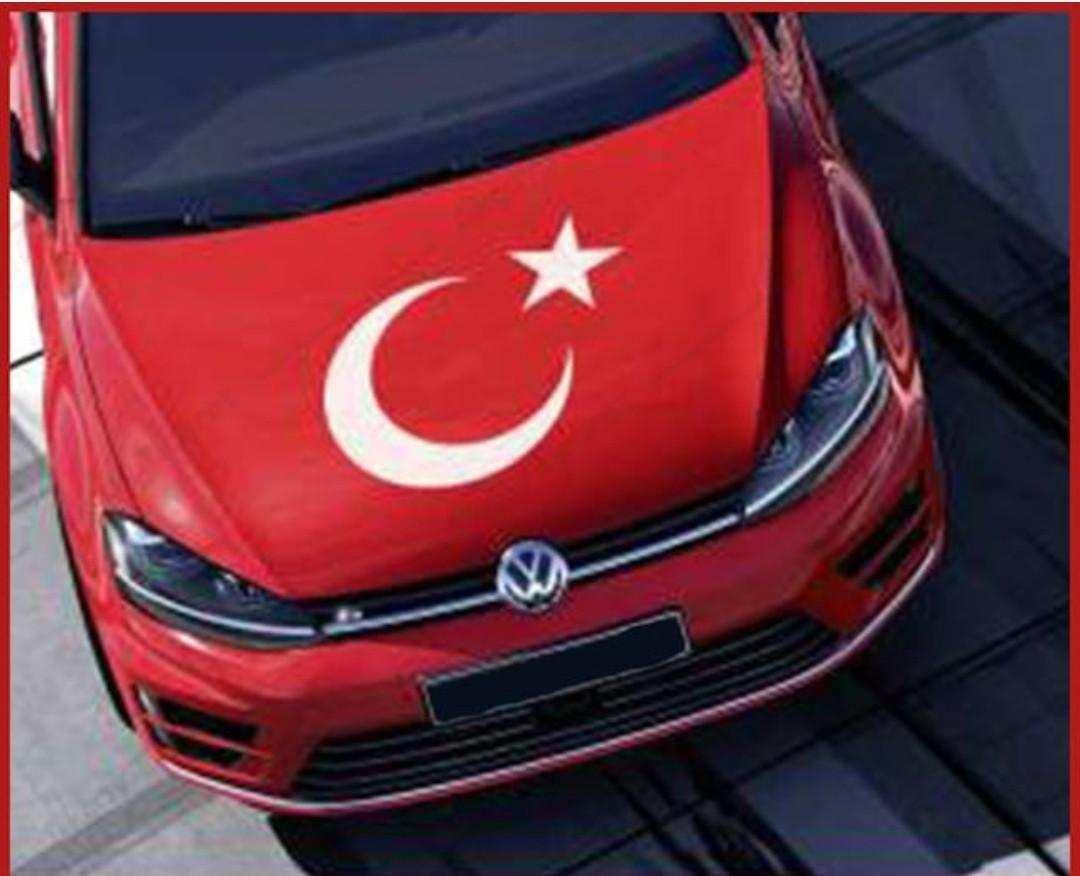 Ay Yıldız Sticker - Türk Bayrağı Sticker-ÖLÇÜLER MEVCUT Bayrak Türkiye Ay yildiz
