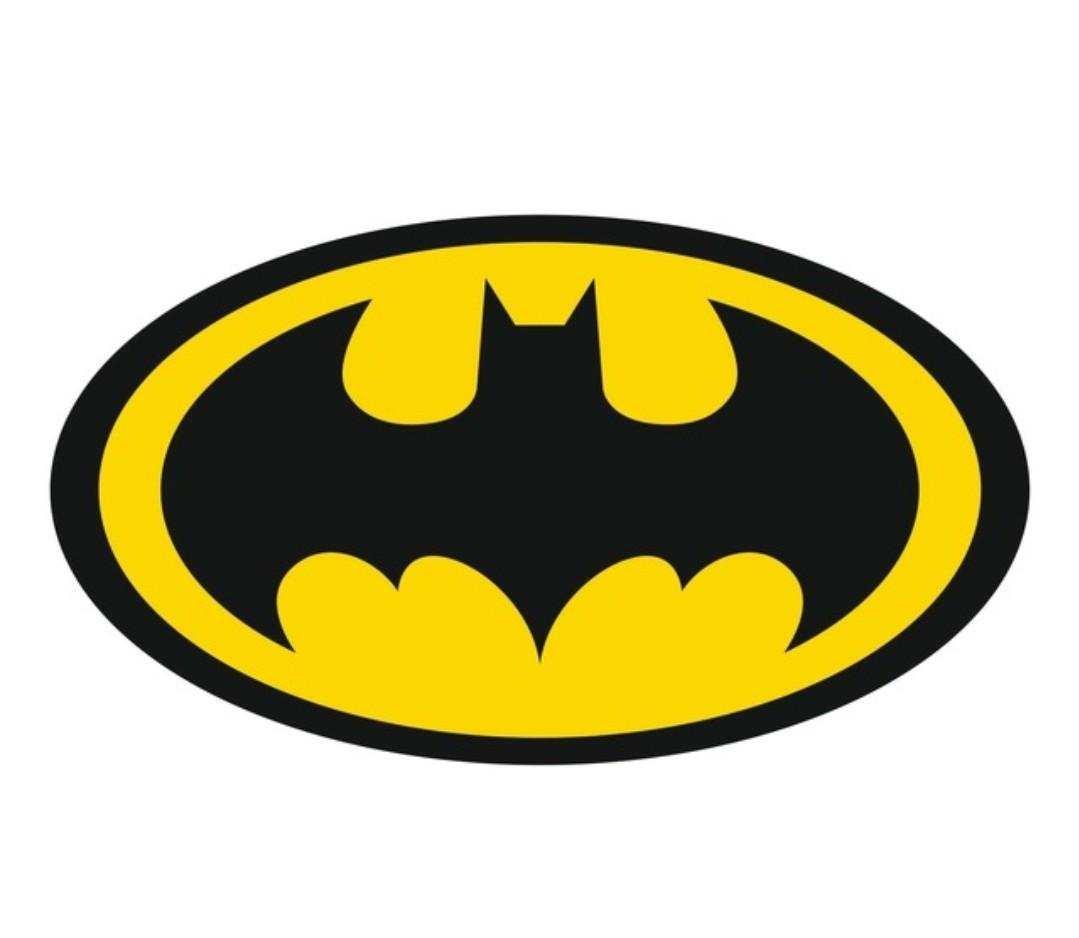 Batman Logo Sticker-ETİKET
