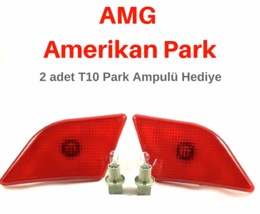 AMG Amerikan Turuncu Park Sinyali SAĞ SOL 2 adet park ampül hediye
