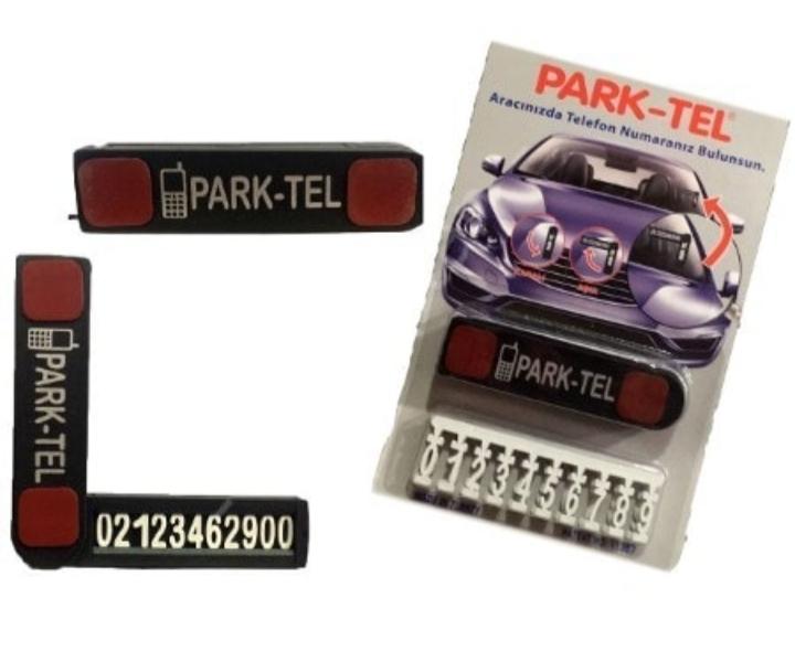 Park-Tel parktel ''Aracınızda Telefonunuz Gözüksün'' aparatı Numaratik