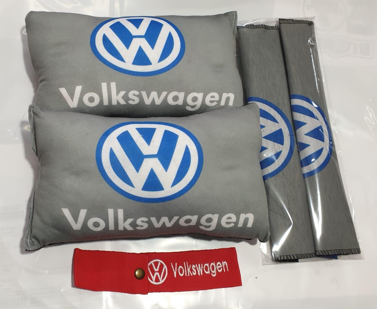 VW 2 BOYUN YASTIK 2 KEMER KILIF tampon süsü ve numaramatik parktel elyaf dolgulu konfor minder