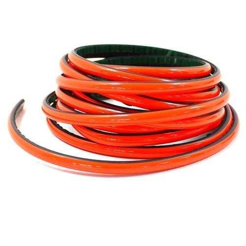 Şerit Araç İçi veya Tampon Kırmızı PVC Şerit 1 Metre Yapışkanlı