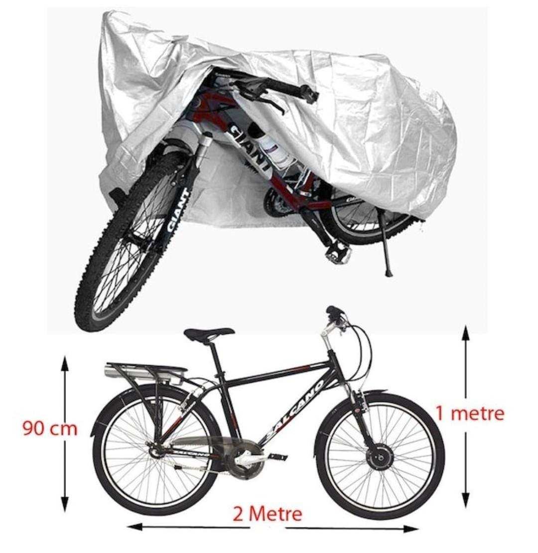 Bisiklet Brandası Örtü Su Geçirmez-KAMPANYA KALİTELİ MİFLON İÇİ YUMUŞAK