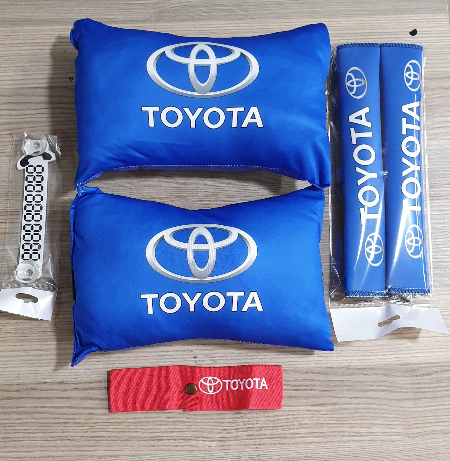 Toyota 2 Boyun Yastık 2kemer parktel tampon dili Sticker HEDİYE