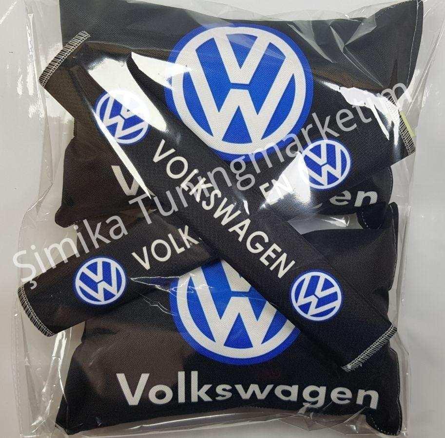 Volkswagen YASTIK LASTİKLİ 2 Lİ VE 2 KEMER KILIFI
