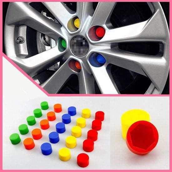Renault Kırmızı Bijon Kapağı ve Sibop Kapağı