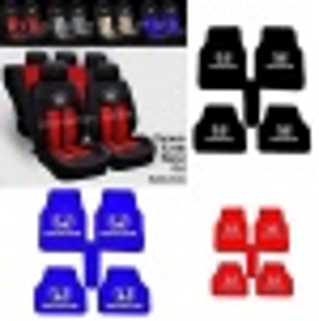 Honda Oto Koltuk Kılıfı Ön Arka Set Logolu paspas -Hediyeli emoj